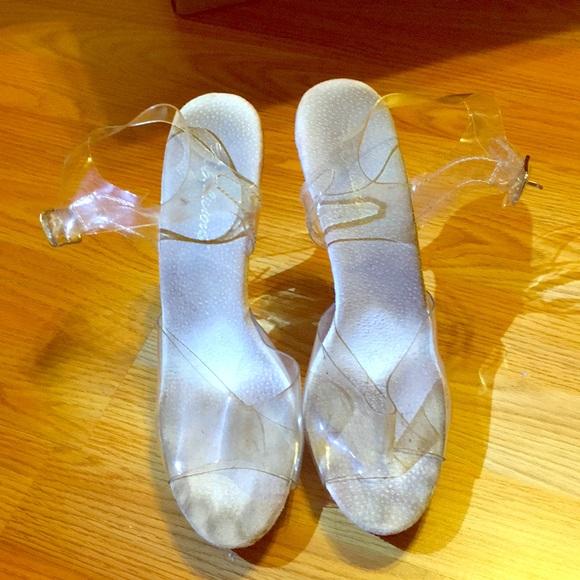 e3efa14c40f Clear bikini competition shoes. M 5a3701d08af1c5e8d7026549